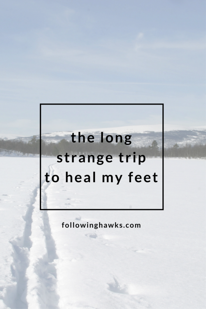Energetic Healing | Shamanism | Healing my feet