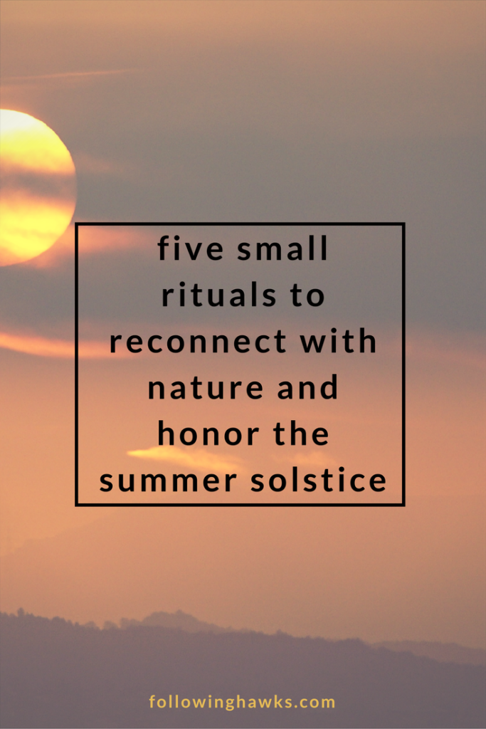Ritual | Summer Solstice | Nature