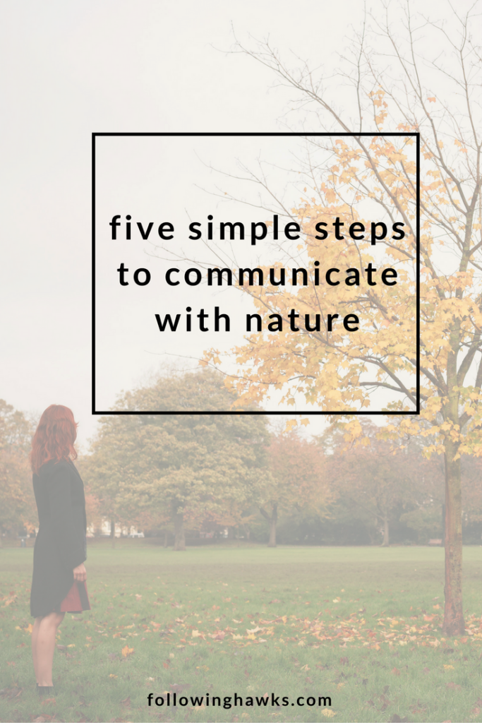 Five Simple Steps to Communicate with Nature