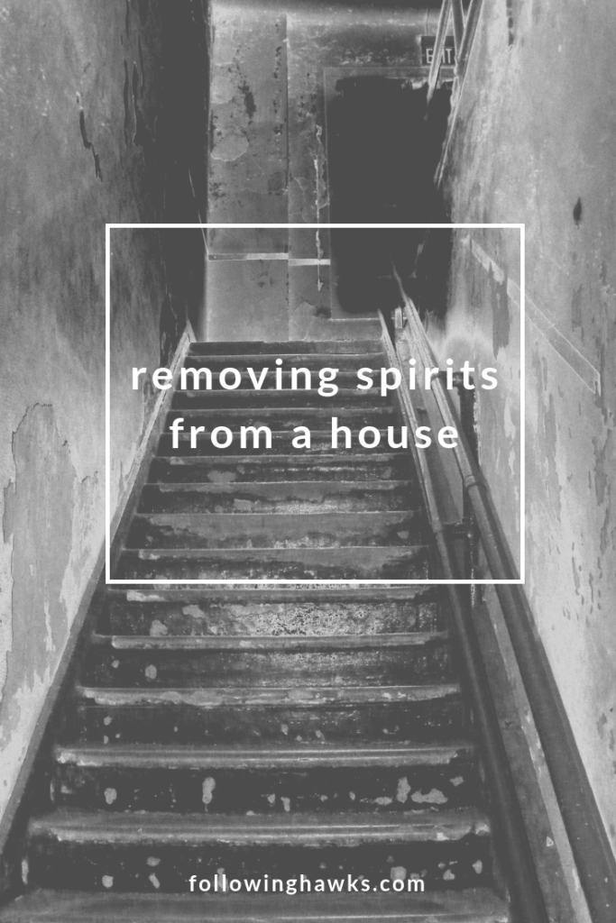 Sometimes people book a haunted AirBnB on purpose and want to experience ghosts. But when I booked a house for a retreat, the last thing I wanted was pesky spirits. But that's what we got. Click through to read about our experience and how we cleared them out. #ghosts #energywork